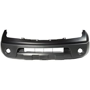 New Front Plastic Primed Bumper Cover Fits Nissan Frontier NI1000225