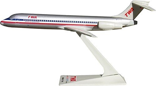 Flight Miniatures TWA American Airlines Trans World AA Merger Boeing 717 2001