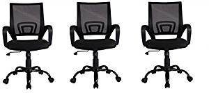 Mid Back Mesh Ergonomic Computer Desk Office Chair,3 (Ergonomic Task Office Chair)