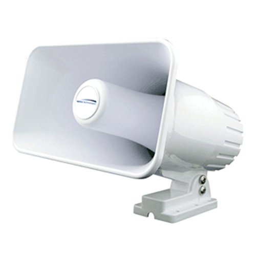 Speco Tech Weatherproof Pa Horn - Speco 4 x 6 Weatherproof PA Speaker Horn - White Marine , Boating Equipment