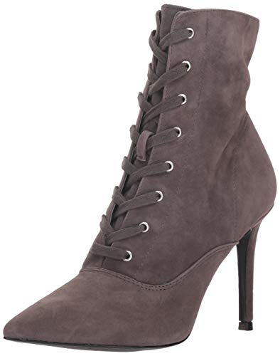 Steve Madden Women's Jinx Pump, Dark Grey Suede, 9 M US ()