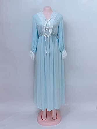 LUCY Blue Nightgown For Women
