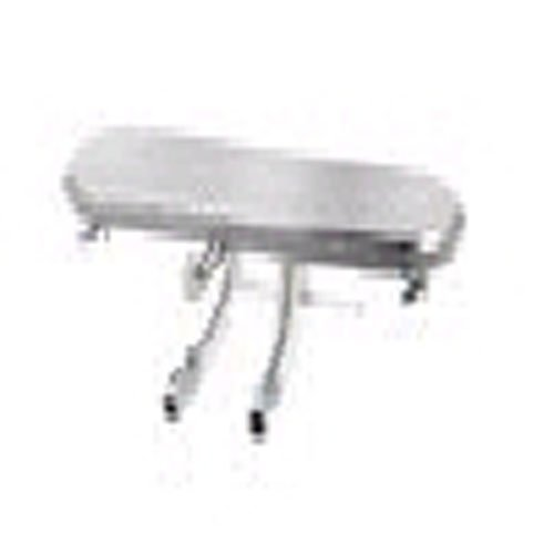 Grillmark Small Dual Bar Burner 12-3/4 X 17, 5-1/2 To 11, 5-1/2 X 11 Stainless Steel by Grill Life
