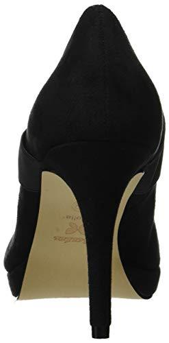 Fermé 7296174 Bout Noir nero 6 Escarpins Bata Femme wTABaqq