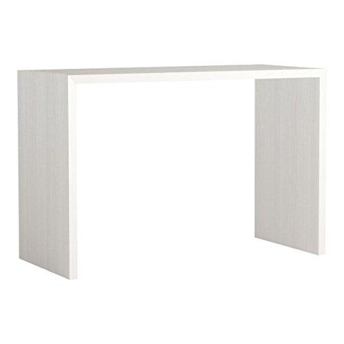 arne カウンターテーブル バーテーブル セミオーダー 日本製 幅140cm 奥行50cm 高さ90cm 受付カウンター 机 テーブル 木製 Zero-X 14050HH ナチュラル B079KZMBGQ 幅140×奥行50,ナチュラル