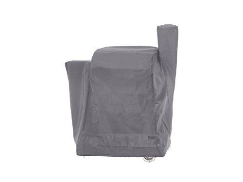 Covermates - Traeger Smoker Cover -49W x 22D x 47H - 2 YR Warranty - Year Around Protection - Charcoal