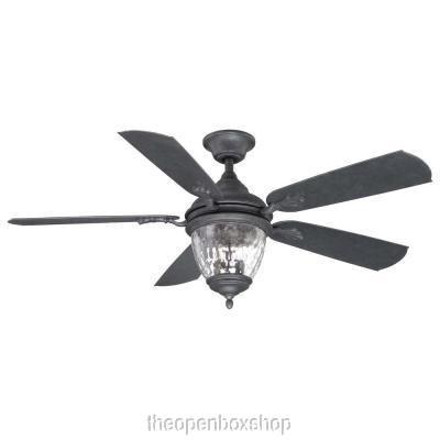 Iron 52 Inch Ceiling Fan - 5