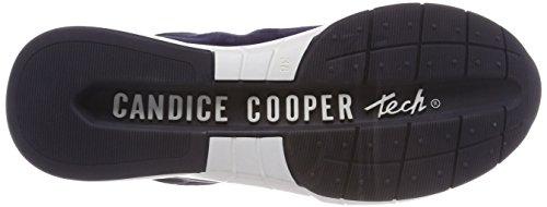 Candice Cooper Women's Camoscio Trainers Blue (Navy 000) MSejBWA