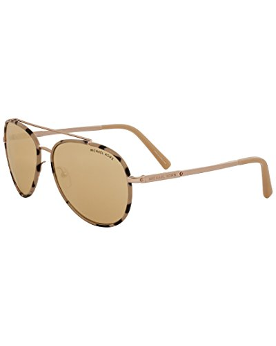 Michael Kors Womens Women's Mk1019 59Mm Sunglasses, - Kors Mirrored Aviators Michael