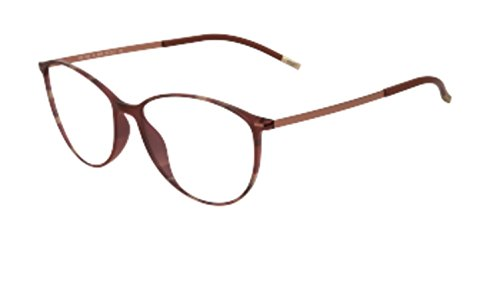 Silhouette Eyeglasses Urban Lite 1562 6060 Marsala Optical Frame 53x16x140mm