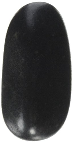 Crafters Square Polished Black River Stones, 32 oz (Great for Fountains Or (Mark Square Candle)