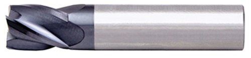 Alfa Tools SCS60653AL 3//4 Flute Single End Center Cutting AlTiN Carbide Stub End Mill Made In USA,