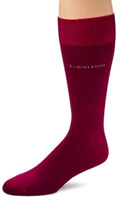 Calvin Klein Men's Egyptian Cotton Dress Socks
