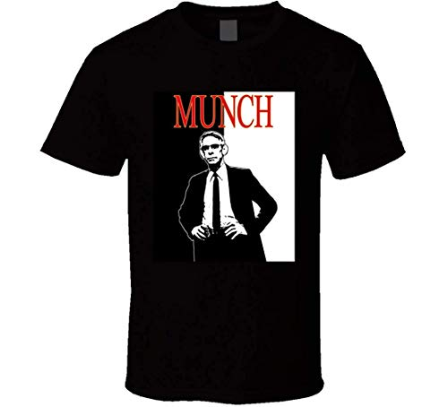 John Munch Law and Order TV Show SVU Cool T Shirt,Black,XX-Large