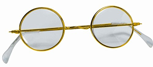 Round Wire Rim Glasses Costume Accessory]()