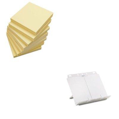 - KITFEL21100UNV35668 - Value Kit - Fellowes BookLift Adjustable Desktop Copyholder (FEL21100) and Universal Standard Self-Stick Notes (UNV35668)