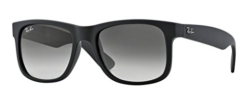 Ray Ban RB4165 601/8G 55M Rubber Black/Grey - 8g Rb4165 601 55