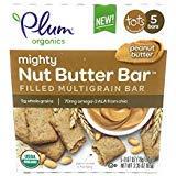 (Plum Organics, Bar Peanut Butter Filled 5 Count Organic, 3.35 Ounce)