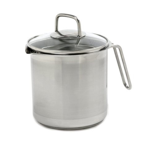 Norpro 641 KRONA 12 Cup Multi Pot with Straining Lid, Stainless Steel