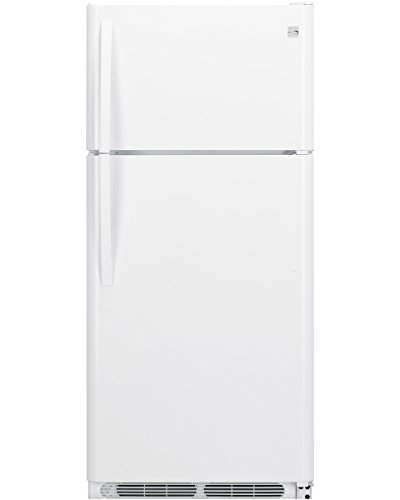 Kenmore 60812 18.1 cu. ft. Top-Freezer Refrigerator, White