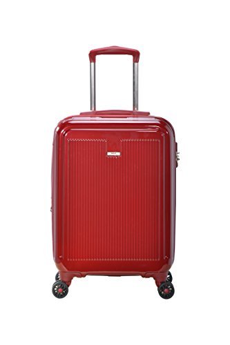 Master Massage Stanwell 20″ Expandable Abs Carry-on Luggage, Burgundy
