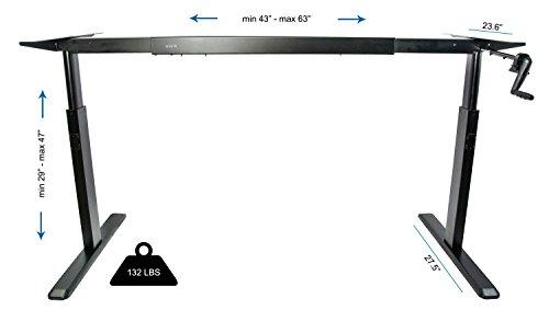 adjustable desk manual crank height adjustable desk rh adjustabledeskkenege blogspot com