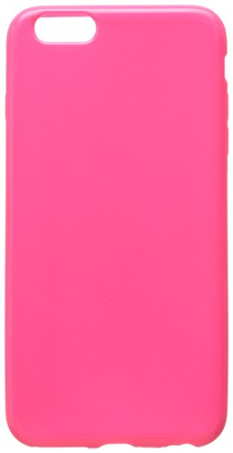 INSTEN Slim Fit TPU Case for Apple iPhone 6 Plus - Retail Packaging - Hot Pink