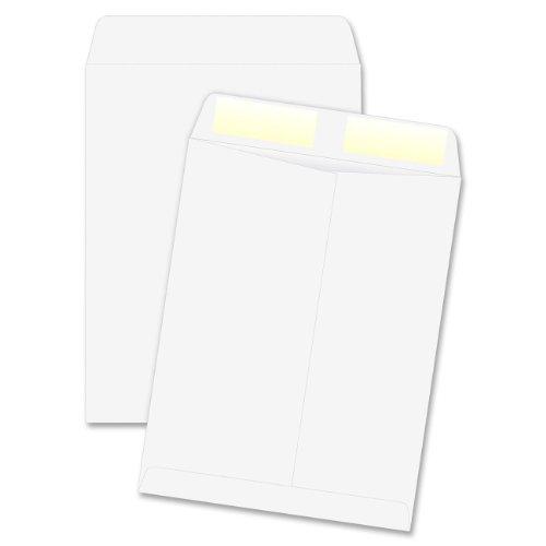 Quality Park 41689 Quality Park Catalog Envelopes, Heavyweight, 10x13, 28-lb, White, 250/Box