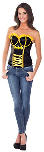 Dc Comics Secret Wishes Batgirl Corset Costumes (Batgirl Corset - Costume Accessories)