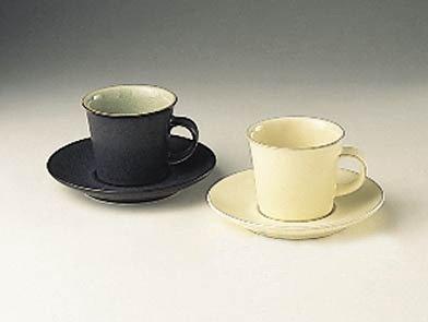 ENERGY COFFEE SAUCER-WHITE - Coffee White Denby