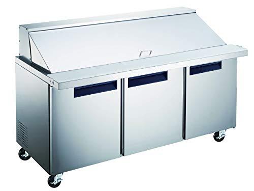 sandwich prep refrigerator - 6