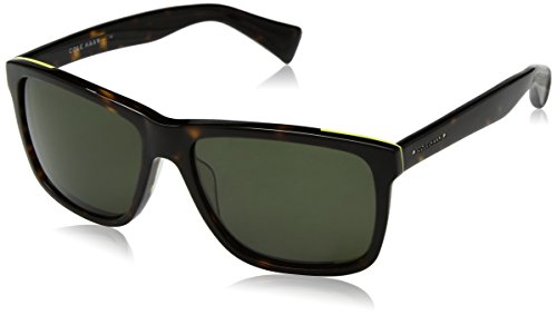Cole Haan Men's Ch6005 Plastic Square Sunglasses, Dark Tortoise, 58 - Haan Sunglass Case Cole