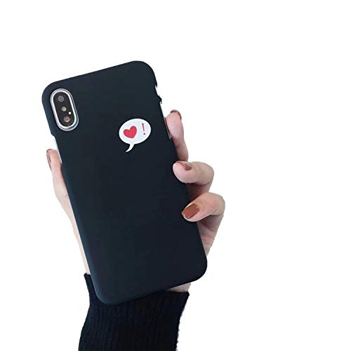 Cute Love Heart Print Back Cover for iPhone X 7 6 6S Plus 5 5S SE Phone Case Hard PC Cases Coque for iPhone 8 8 Plus,Style 18,for iPhone 8 Plus