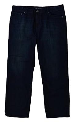 Calvin Klein Mens Classic Straight Leg Jeans, Osaka Blue, 32 X 34