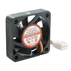 EVERCOOL Thermal, LLC Case Fan, 40x40x10mm, Ball Bearing, 3-pin