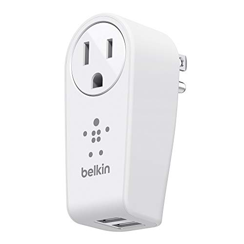 Belkin BOOST↑UP 2-Port Swivel Charger + Outlet - 12 W O