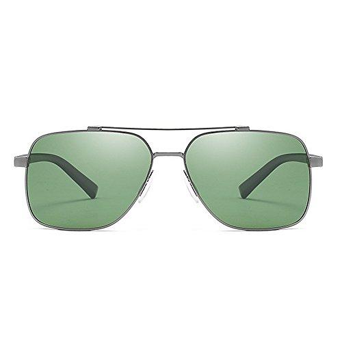 Hombre para de Gafas de Yxsd Aviador UV400 SunglassesMAN Metal Protección Sol de Marco con de FWwY1qxH0