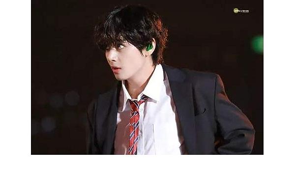 5D DIY [Kim Tae Hyung (V), miembro del equipo BTS] Imagen de ...