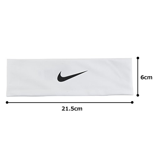 Nike Fury Headband 2.0 (OSFM,White/Black) by Nike (Image #5)