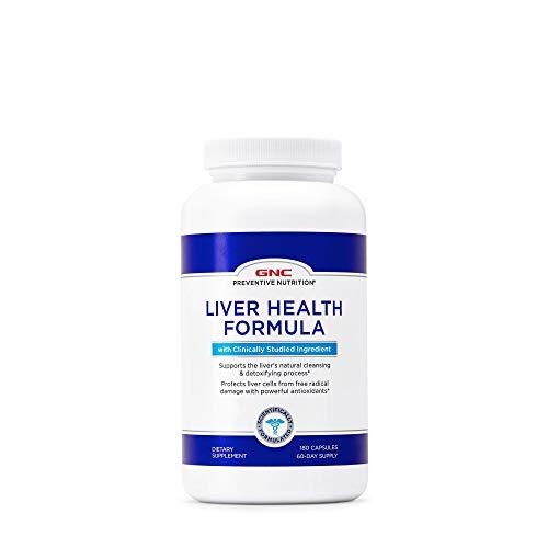 GNC Preventive Nutrition Liver Health Formula, 90 Capsules, Supports Healthy Liver Function (Gnc Health Liver)