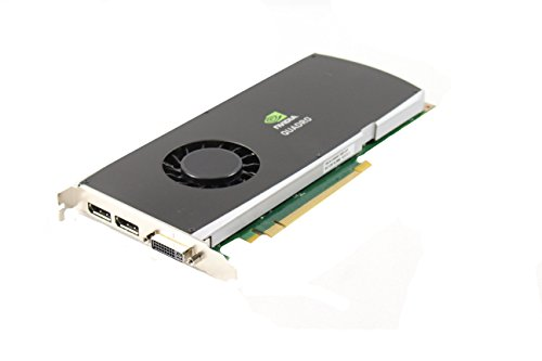 Genuine Dell X9YDW T939K NVIDIA Quadro FX 3800 1 GB GDDR3 PCI-E PCI-Express 2.0 x16 DVI Dual DisplayPort Full Height Graphics Video Card Compatible Part Numbers: X9YDW T939K -