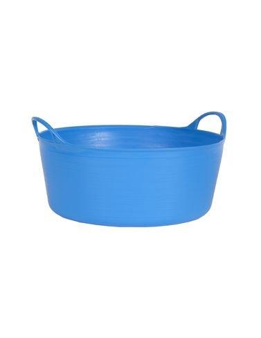 TubTrug SP15BL Shallow Blue Flex Tub, 15 Liter