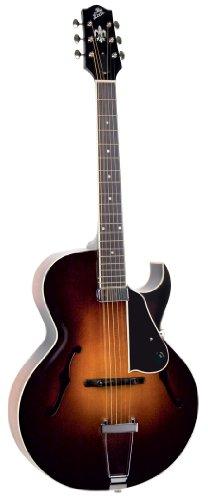 The Loar LH-650-VS Hand-Carved Archtop Cutaway Guitar, Vintage Sunburst