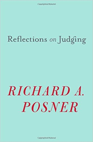 Image result for posner reflections on judging