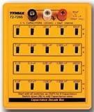 Tenma 22H6398 CAPACITANCE DECADE BOX CAPACITOR