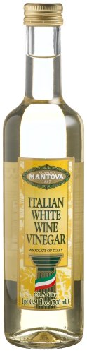 - Mantova Italian White Wine Vinegar, 17-Ounce Bottles (Pack of 4)