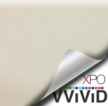 VViViD Oyster Beige Weatherproof Faux Leather Finish Marine Vinyl Fabric (10ft x 54