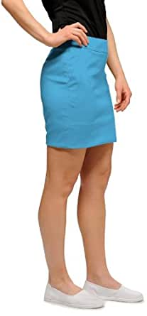Loudmouth Golf Womens Skort: Powder Blue - Size 0