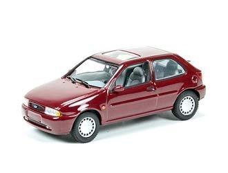 Ford Fiesta Mk4 3-Door (1995) in Dark Red (143  sc 1 st  Amazon UK & Ford Fiesta Mk4 3-Door (1995) in Dark Red (1:43 scale) Diecast ... markmcfarlin.com