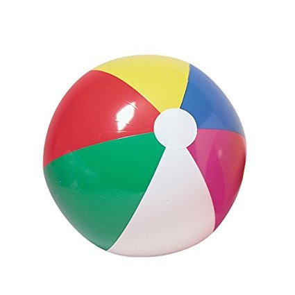 [Beach Ball Inflates 20 Inches: Fun For Beach or Classroom] (Homemade Cupcake Costumes For Adults)